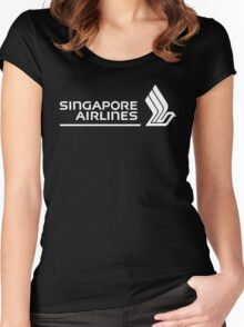 Singapore Airlines. Women's Fitted Scoop T-Shirt
