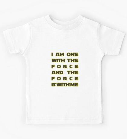 With the Force Kids Tee