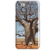 Boab by the Marsh Derby iPhone Case/Skin