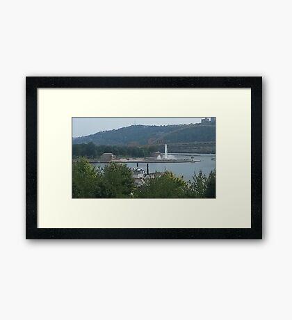 Point State Park Framed Print