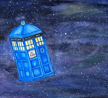 All of Time and Space - Doctor Who fan art by mistidoesart