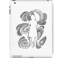 woman silhouette iPad Case/Skin