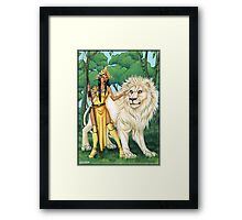 Warriors of the Forest Framed Print