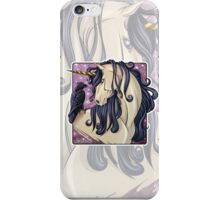 Gothic Unicorn and Raven iPhone Case iPhone Case/Skin
