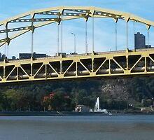 Bridge over Point State Park by Jamie Savatt