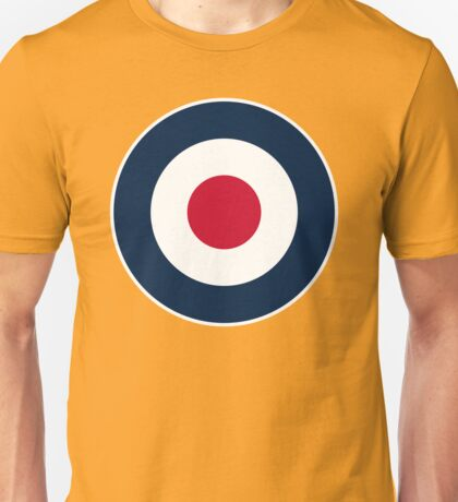 Retro MOD RAF - Target Scooter Unisex T-Shirt