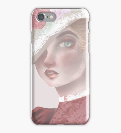 1980 Victorian Lady iPhone Case/Skin