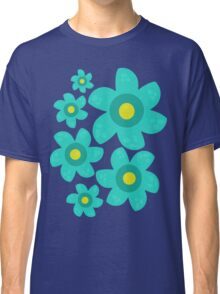 Turquoise Flower Classic T-Shirt