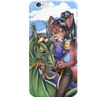 Dragon Rider Fox iPhone Case/Skin