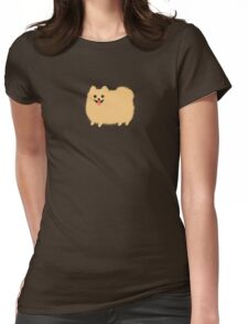 Pomeranian Womens Fitted T-Shirt