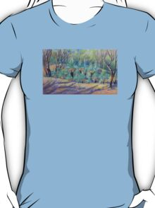 Grass Trees at Cunningham's  Gap Queensland T-Shirt