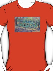 Grass Trees at Cunningham's  Gap Queensland T-Shirt