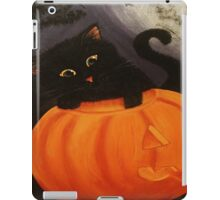Fuzzimodo the Curious Cat iPad Case/Skin