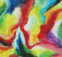 """Echo"" original artwork by Laura Tozer by Laura Tozer"