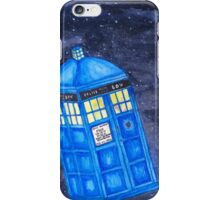 All of Time and Space - Doctor Who fan art iPhone Case/Skin