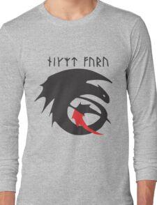 Strike Class Dragon Symbol How to Train Your Dragon HTTYD Long Sleeve T-Shirt