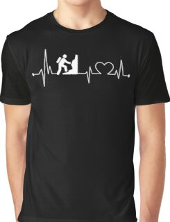 Heartbeat Hobby Hiking Graphic T-Shirt