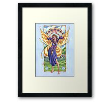 Art Nouveau Summer Time Fairy  Framed Print