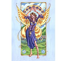Art Nouveau Summer Time Fairy  Photographic Print