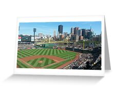 PNC Park - Pittsburgh PA Greeting Card