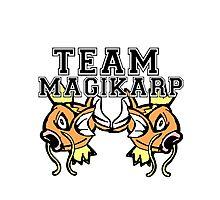 Team Magikarp Photographic Print
