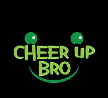 Cheer up BRO! with smile by jazzydevil