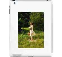 Garden fox iPad Case/Skin