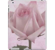 Single Pink Rose Blossom iPad Case/Skin