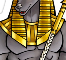 Anubis Egyptian God  Sticker
