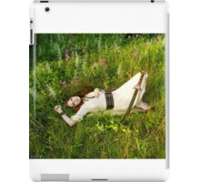 Reclining Fox Maiden iPad Case/Skin