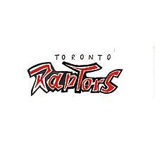 Toronto Raptors Photographic Print
