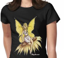 Sunflower Fairy  Womens Fitted T-Shirt