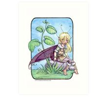 Basil the Fairy Art Print