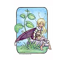 Basil the Fairy Photographic Print