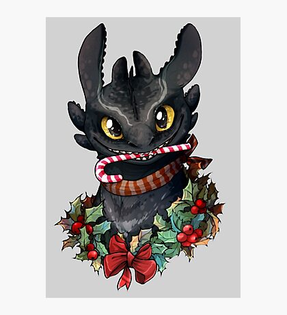 Krokmou - Toothless Photographic Print