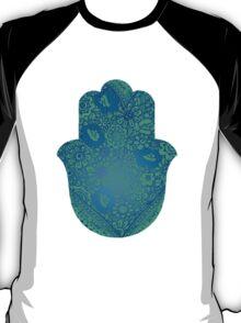 Blue Hamsa T-Shirt
