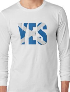 Scottish flag  yes  Long Sleeve T-Shirt