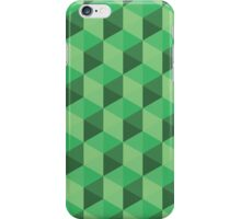 Green Cubes iPhone Case/Skin