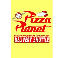 Pizza Planet Photographic Print