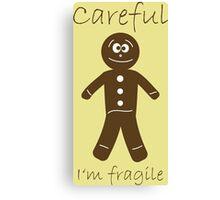 Fragile Cookies Canvas Print