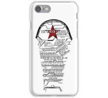 The Winter Soldier Quotes iPhone Case/Skin