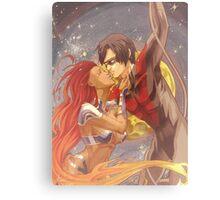 NightwingXStarfire: Summer Time Canvas Print