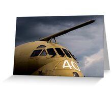 RAF Nimrod maritime aircraft XV240 Greeting Card