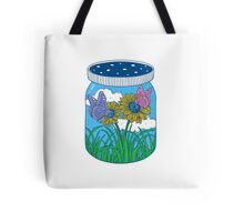 Little jar of happiness Tote Bag