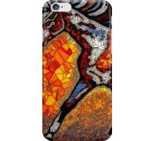 Run Pony Run Abstract Mosaic iPhone Case/Skin
