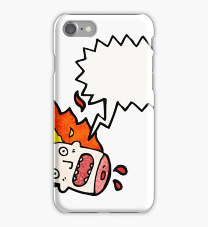 halloween head cartoon iPhone Case/Skin