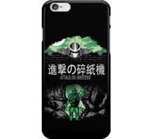 Attack on Shredder (Donnie) iPhone Case/Skin