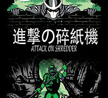 Attack on Shredder (Donnie) by GreenHRNET