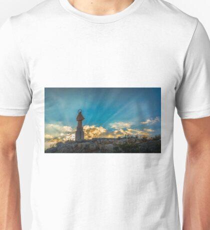 Saintly sunbeams  Unisex T-Shirt