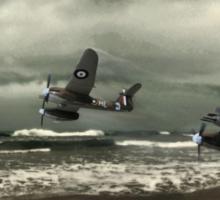 Westland Whirlwind fighter planes Sticker